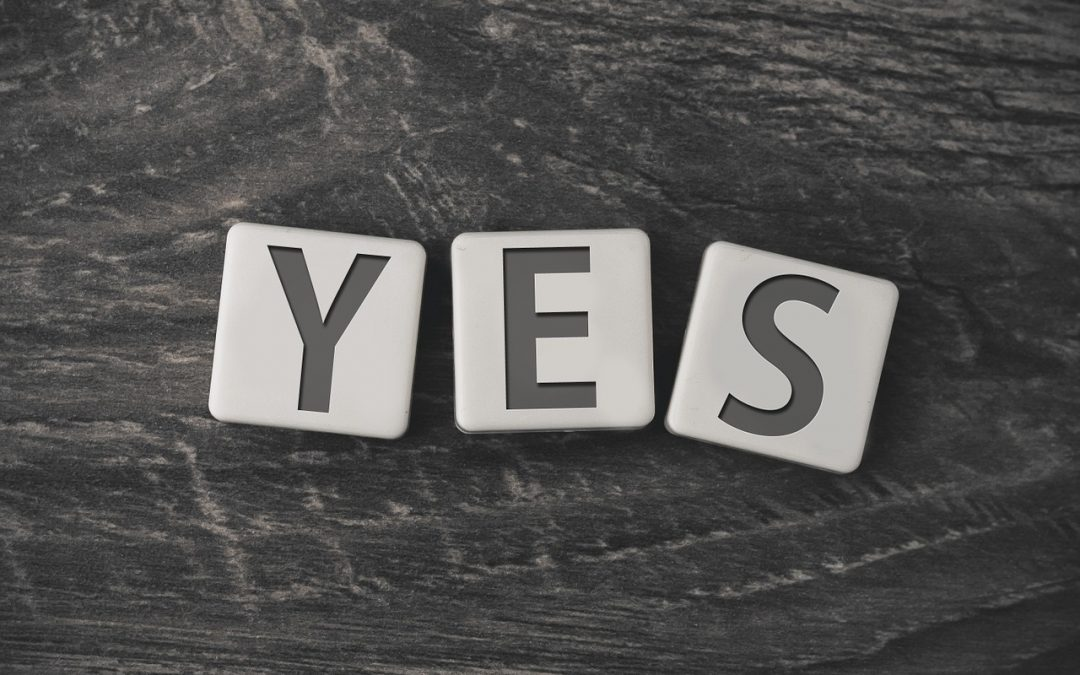 "5 steps to knowing how to use the power of ""yes"" to help you set healthy boundaries."